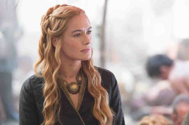 Cersei's Inquiry Braids ... is listed (or ranked) 7 on the list The Best Hairstyles on 'Game of Thrones'