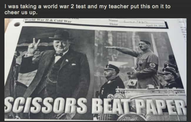 This Pun-Loving History Teache... is listed (or ranked) 3 on the list 29 Teachers You Wish You Had When You Were in School