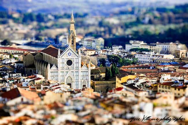 Teeny Tiny Florence, Italy is listed (or ranked) 2 on the list Unreal Tilt-Shift Photos of Landmarks