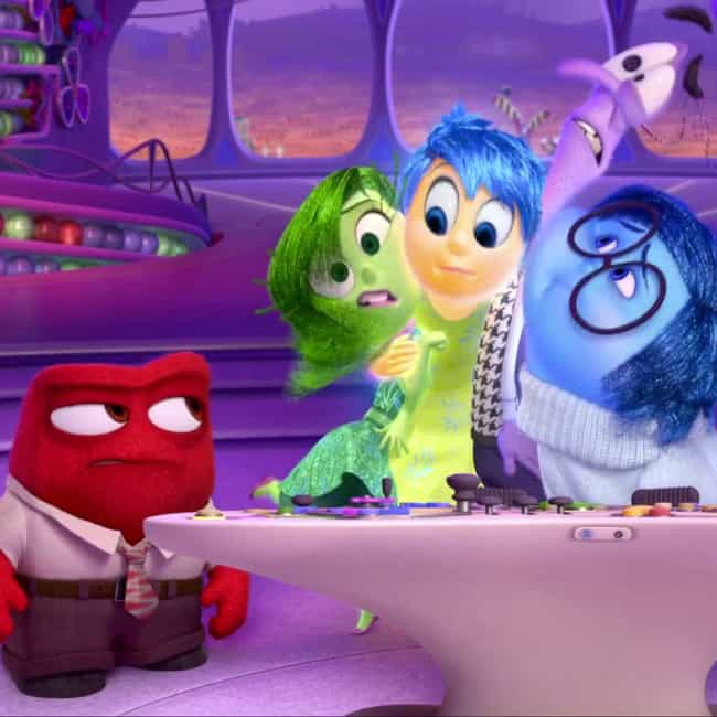 No Bears in San Francisc... is listed (or ranked) 4 on the list Inside Out Movie Quotes