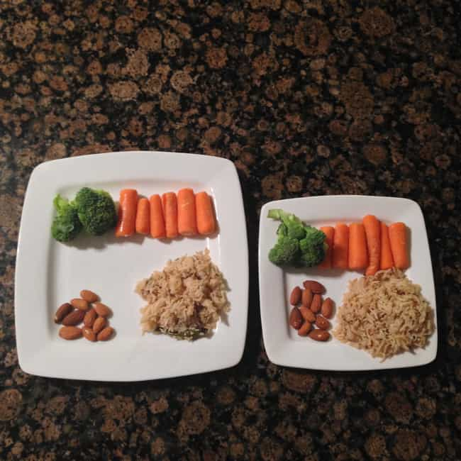 Downsize Your Plates is listed (or ranked) 4 on the list Quick Weight Loss Tips