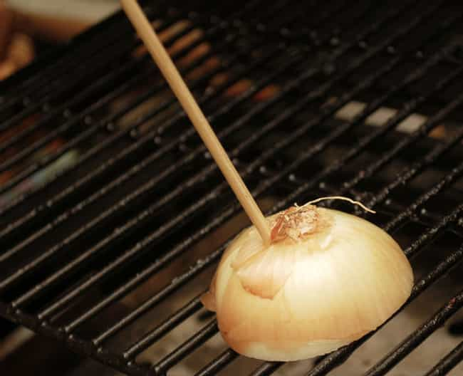Clean the Grill with an Onion is listed (or ranked) 4 on the list BBQ Hacks Every Grill Master Should Know