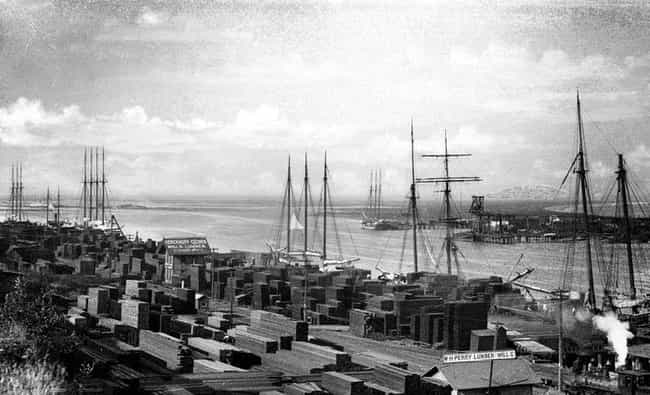 Port of Los Angeles, 1888 is listed (or ranked) 7 on the list 40 Mind-Blowing Photos of Historic Los Angeles