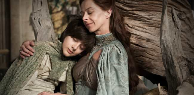 Lysa Arryn Nursing Her 1... is listed (or ranked) 4 on the list Horrifying Things That Game of Thrones Treated a Little Too Casually