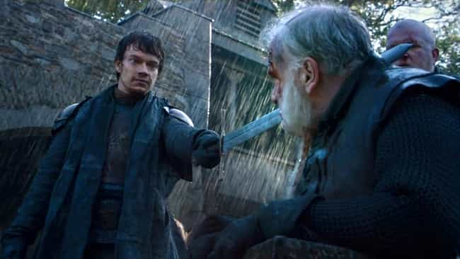 Theon Screws Up Roderick Casse... is listed (or ranked) 2 on the list Horrifying Things That Game of Thrones Treated a Little Too Casually