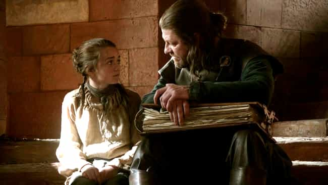 Back When Arya Was an Innocent... is listed (or ranked) 1 on the list The Good Times Before Game of Thrones Got Super Depressing