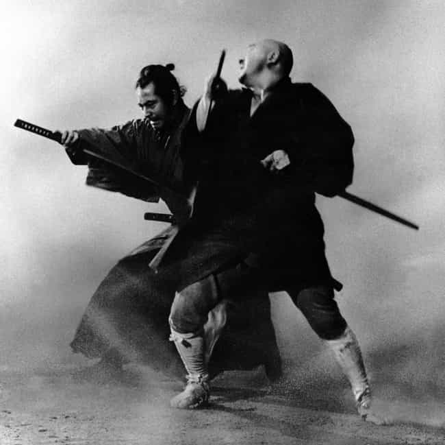 Zatoichi is listed (or ranked) 3 on the list The Most Hardcore Blind Fictional Characters
