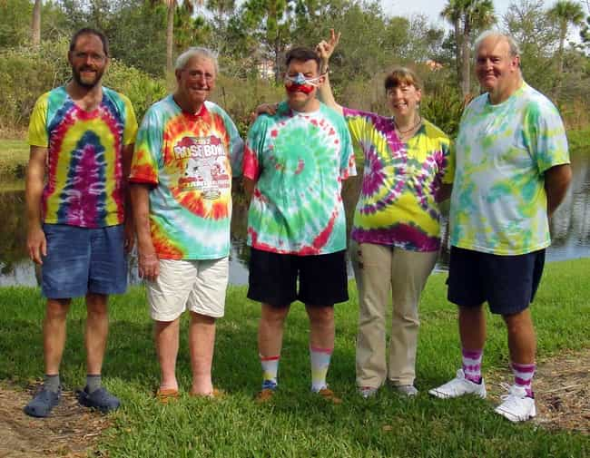 The Terrible Tie-Dye Dad is listed (or ranked) 4 on the list The Most Embarrassing Dad Fashion Choices
