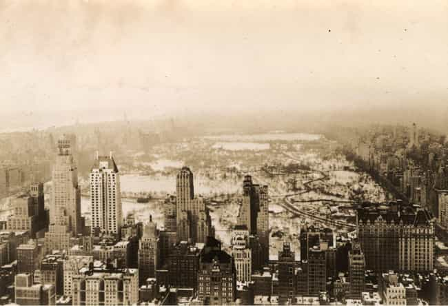 Central Park, 1935 is listed (or ranked) 1 on the list 16 Beautiful Old New York Photos
