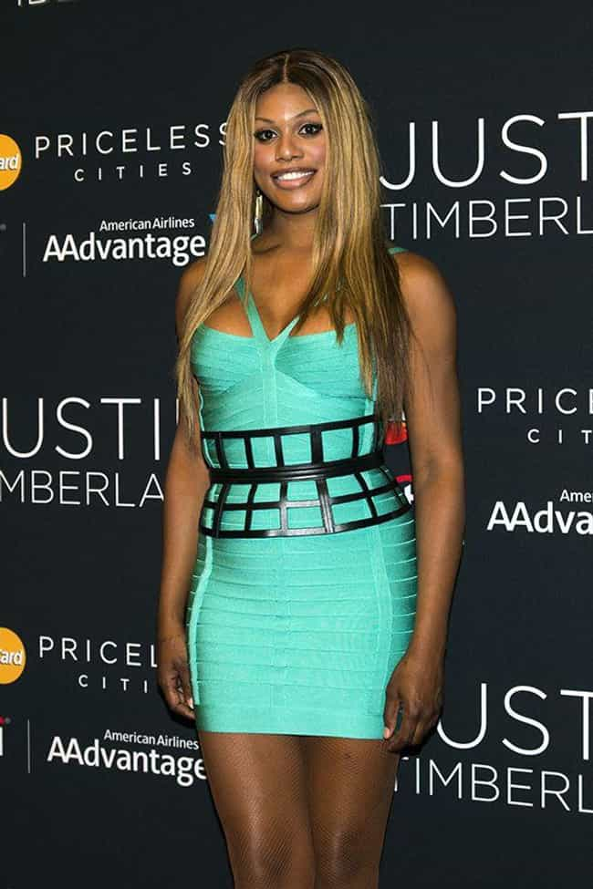 Laverne Cox and M Lamar is listed (or ranked) 4 on the list 8 Famous Boy/Girl Twin Duos
