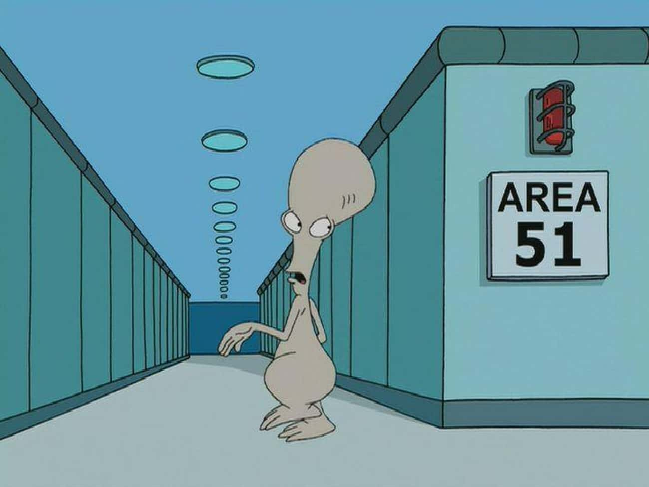 Roger Smith From 'American Dad!'