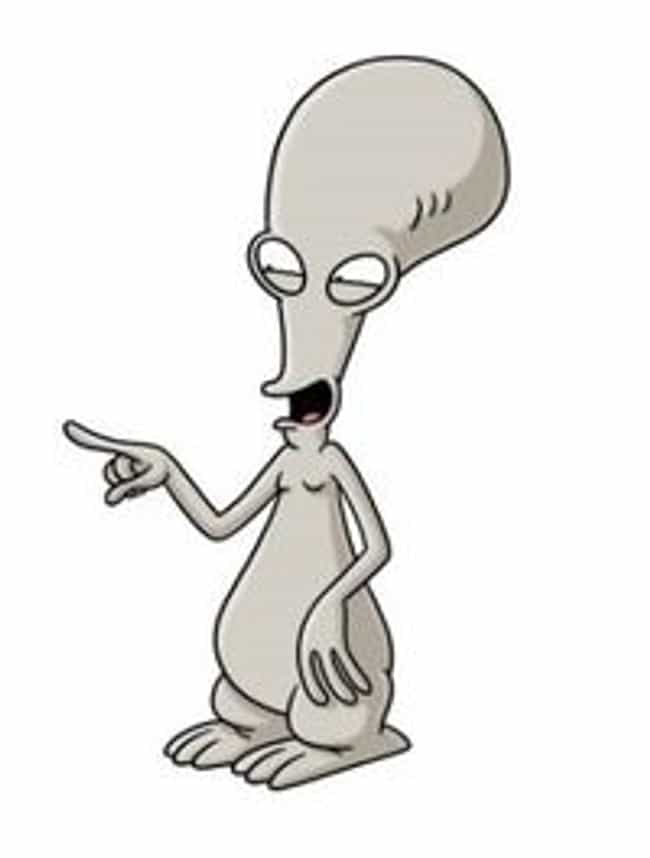 "Roger Smith from ""America... is listed (or ranked) 4 on the list Cute Characters Who Say the Most Messed Up Things"