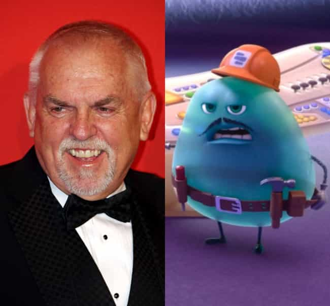 John Ratzenberger: The V... is listed (or ranked) 3 on the list 27 Easter Eggs Hidden in Pixar's Inside Out