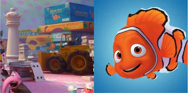 Nemo Has a Cameo is listed (or ranked) 3 on the list 27 Easter Eggs Hidden in Pixar's Inside Out