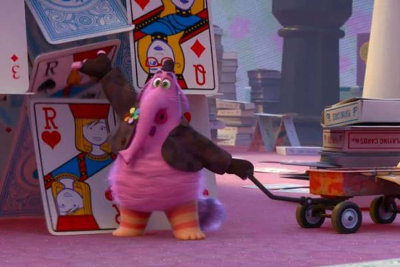 Riley's Brain Uses Images  is listed (or ranked) 2 on the list 27 Easter Eggs Hidden in Pixar's Inside Out