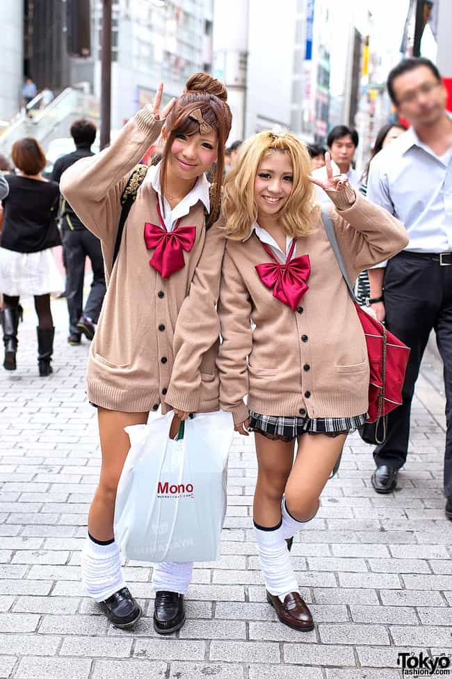 Kogal is listed (or ranked) 4 on the list The Craziest Japanese Fashion Trends