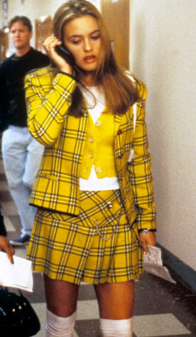 Plaid Yellow Skirt Suit is listed (or ranked) 2 on the list The Best Outfits from Clueless