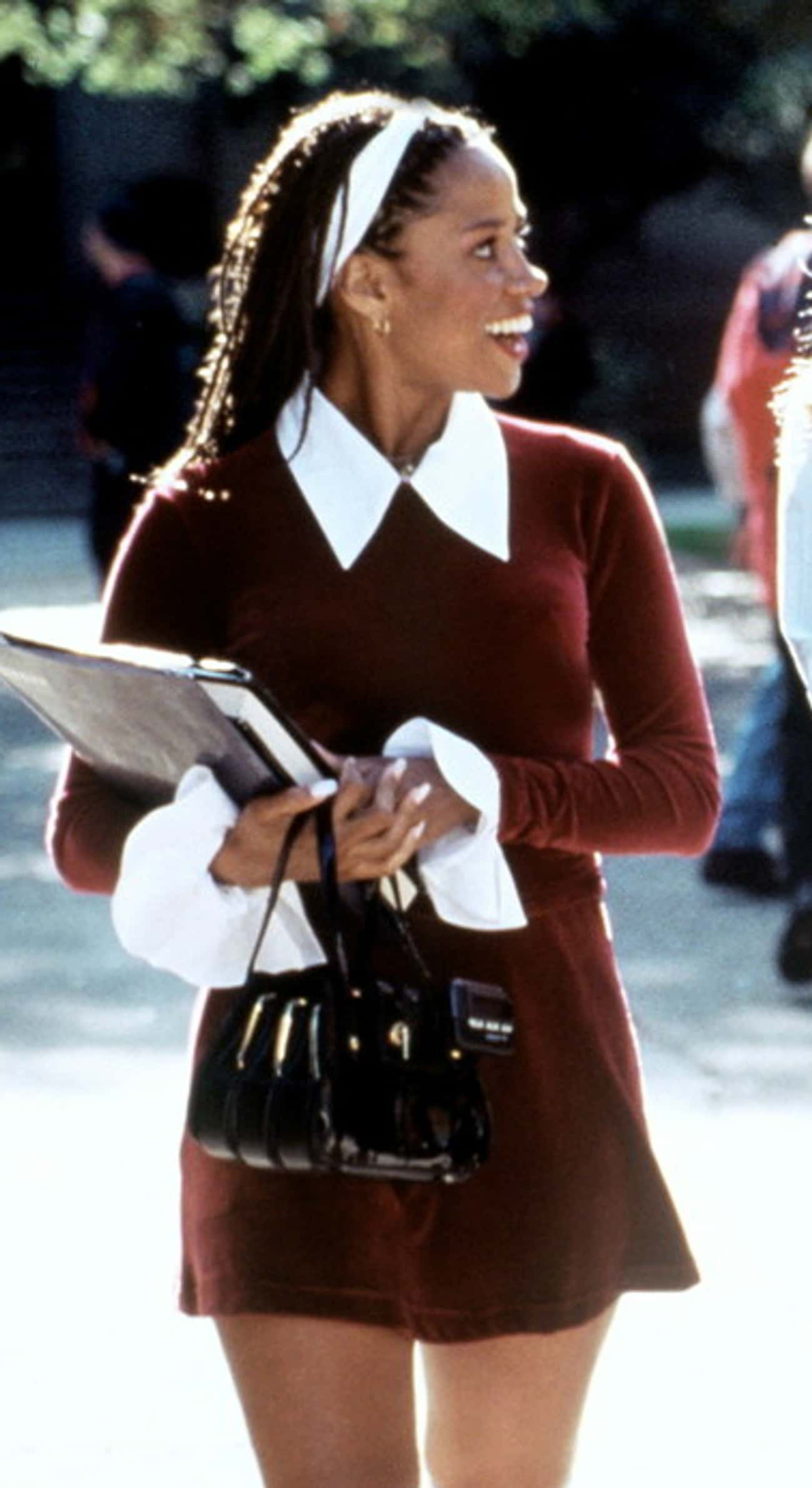 Maroon Crushed Velvet is listed (or ranked) 4 on the list The Best Outfits from Clueless
