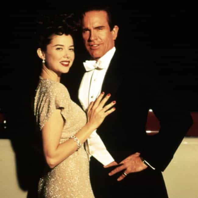 Warren Beatty And Annett... is listed (or ranked) 4 on the list Onscreen Couples That Could Be Father And Daughter