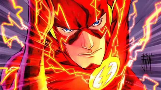 The Flash (Barry Allen) is listed (or ranked) 1 on the list The Fastest Characters In Comics