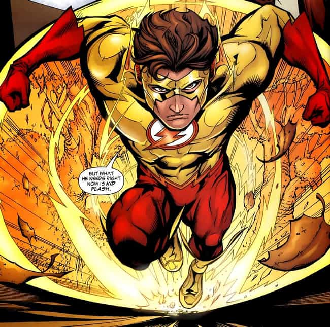 Kid Flash is listed (or ranked) 4 on the list The Fastest Characters In Comics