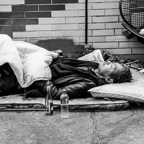 Homelessness is listed (or ranked) 3 on the list The Social Issues You Care About Most