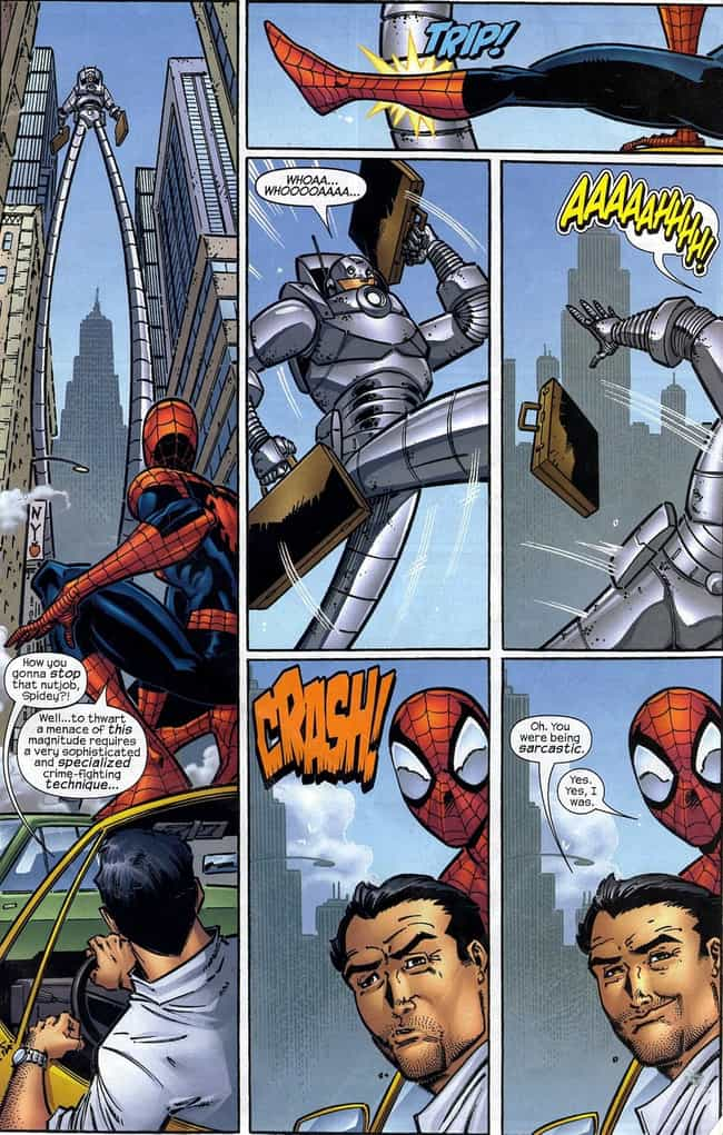Worst. Villain. Ever. is listed (or ranked) 2 on the list The Funniest Spider-Man Quips in Comics