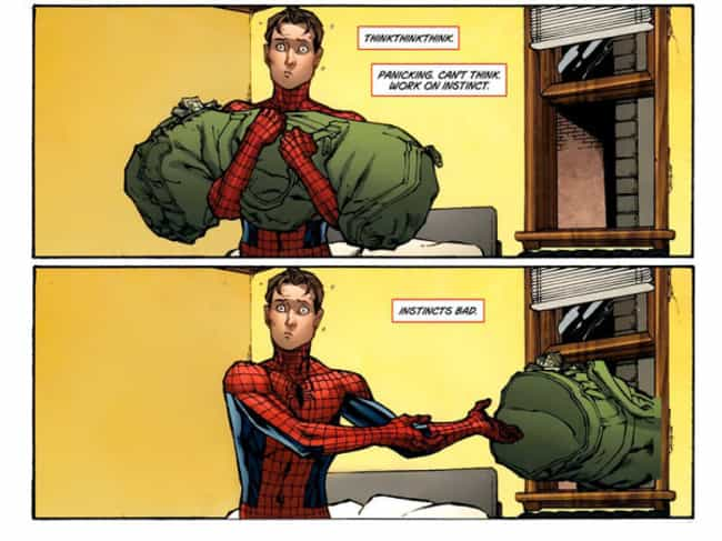 You're a Better Man Than U... is listed (or ranked) 4 on the list The Funniest Spider-Man Quips in Comics
