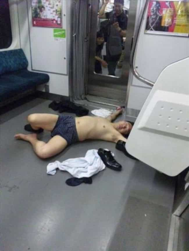 Public Places That Drunk-You C... is listed (or ranked) 4 on the list Things That Drunk-You Should Stay Away From