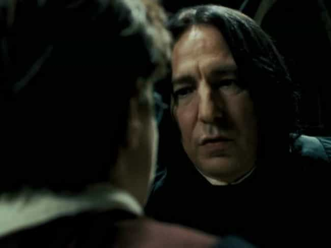 Image result for harry and snape