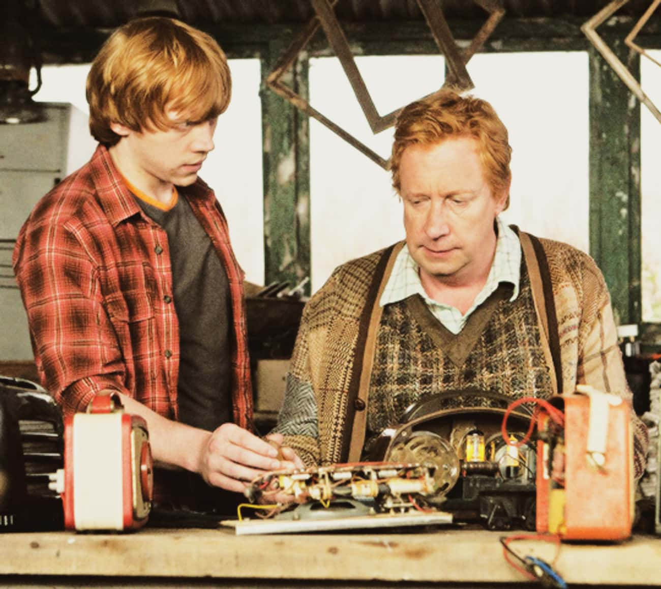 Ron and Arthur Weasley Were Bo is listed (or ranked) 1 on the list J.K. Rowling's Post-Books Reveals About Harry Potter