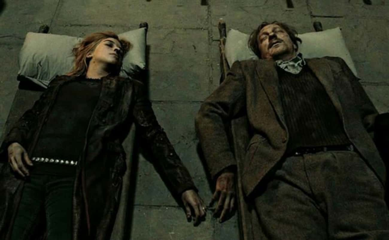 Tonks and Lupin Were Part of R is listed (or ranked) 2 on the list J.K. Rowling's Post-Books Reveals About Harry Potter