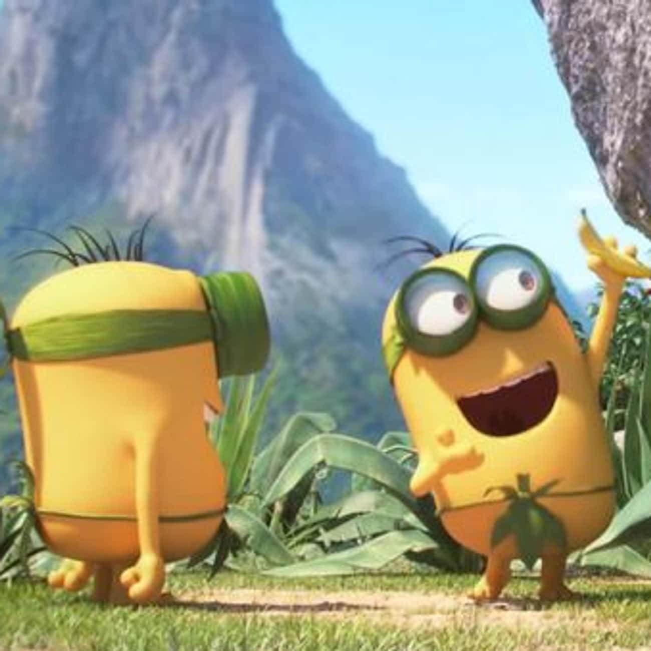 C'est Banana! is listed (or ranked) 4 on the list Minions Movie Quotes