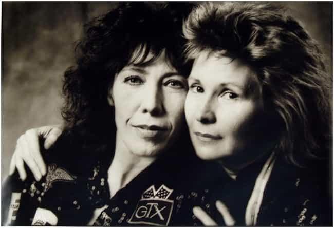 Lily Tomlin & Jane Wagner is listed (or ranked) 3 on the list The Coolest Same-Sex Female Power Couples