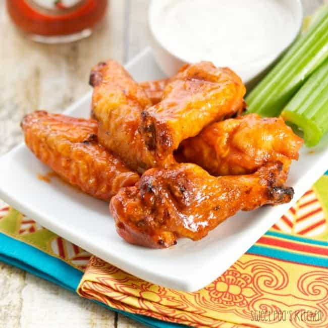 Smoked Buffalo Chicken Wings is listed (or ranked) 1 on the list Finger-Lickin' Chicken Wing Recipes