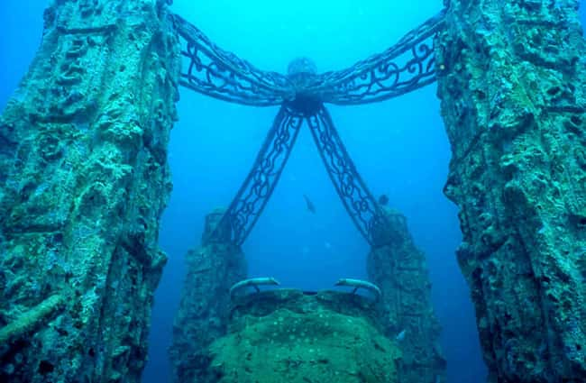The Famous Pirate Cove of Port is listed (or ranked) 8 on the list The Most Amazing Photos of Underwater Cities