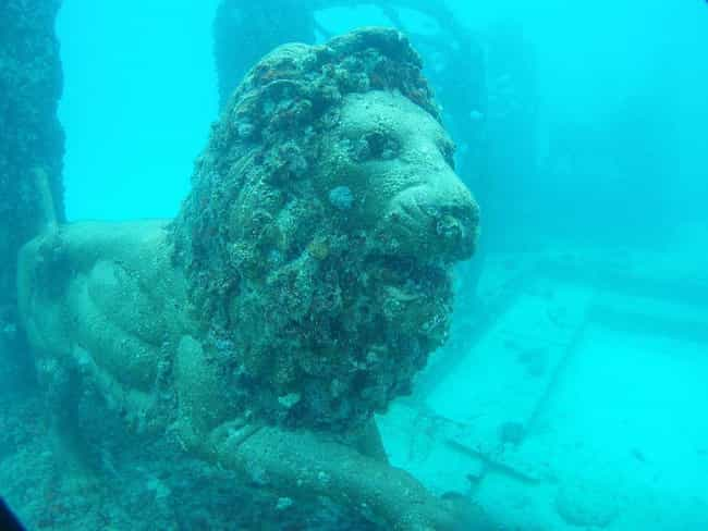 The Sunken Playground of... is listed (or ranked) 3 on the list The Most Amazing Photos And Videos of Underwater Cities