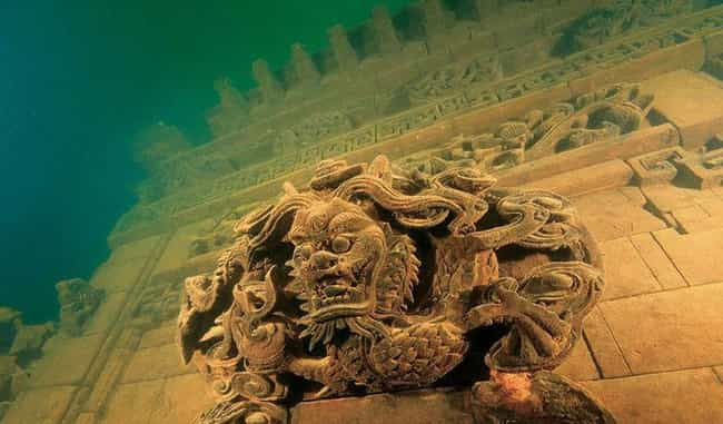 Lion City Recaptures China'... is listed (or ranked) 3 on the list The Most Amazing Photos of Underwater Cities