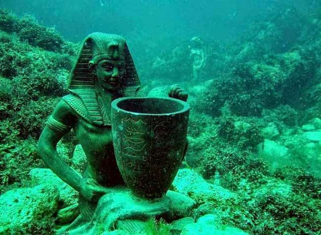 One of the Many Rediscovered R is listed (or ranked) 17 on the list The Most Amazing Photos of Underwater Cities