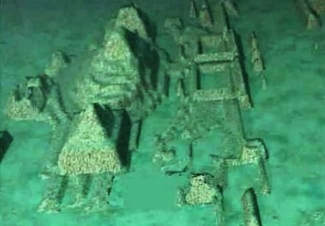 Could Atlantis Be Hiding off t is listed (or ranked) 10 on the list The Most Amazing Photos of Underwater Cities
