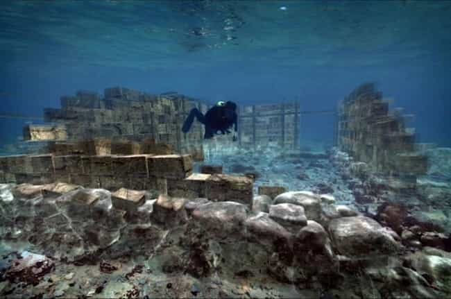 The Ruins of Pavloperti, Greec... is listed (or ranked) 1 on the list The Most Amazing Photos of Underwater Cities