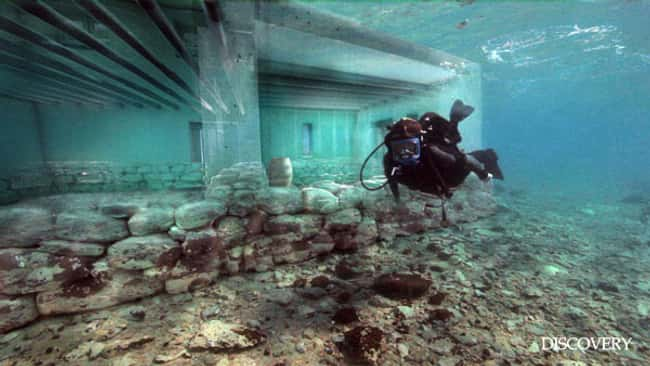 Roaming the Remains of a 5,000 is listed (or ranked) 16 on the list The Most Amazing Photos of Underwater Cities