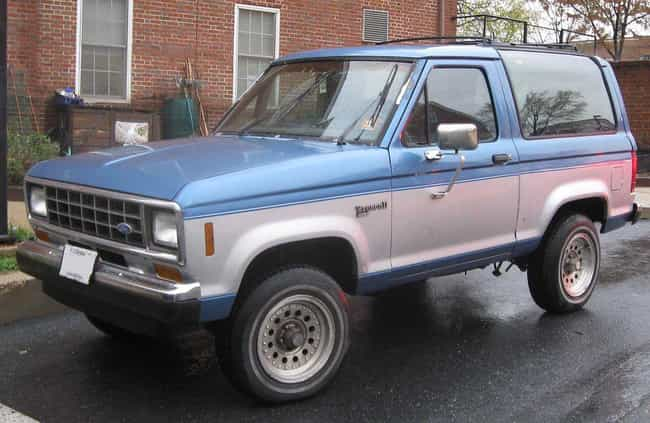1984 to 1990 Bronco II is listed (or ranked) 3 on the list 15 Surprisingly Dangerous Cars