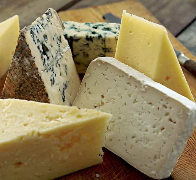 Artisanal Cheese is listed (or ranked) 4 on the list 18 Surprising Products Made by Prisoners