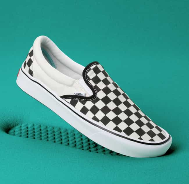 Vans Slip Ons is listed (or ranked) 3 on the list The Most Iconic Shoes in Footwear History