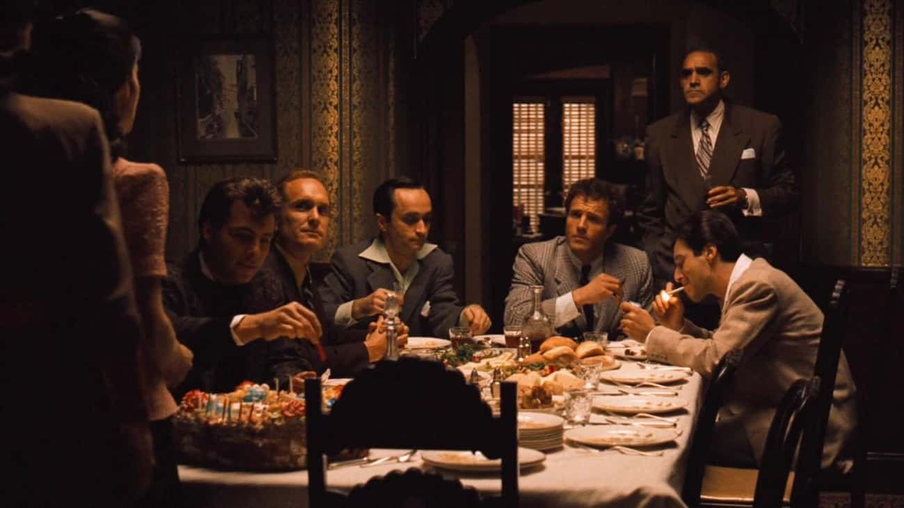 That Was Coppola's Spaghet is listed (or ranked) 4 on the list 20 Fun Facts About the Godfather Trilogy