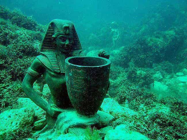 Ancient Art from Cleopatra'... is listed (or ranked) 1 on the list The Most Incredible Underwater Travel Sights