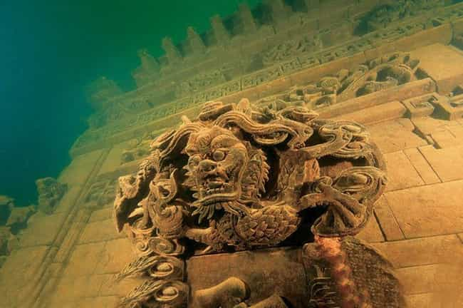 China's Sunken City of Shi... is listed (or ranked) 3 on the list The Most Incredible Underwater Travel Sights
