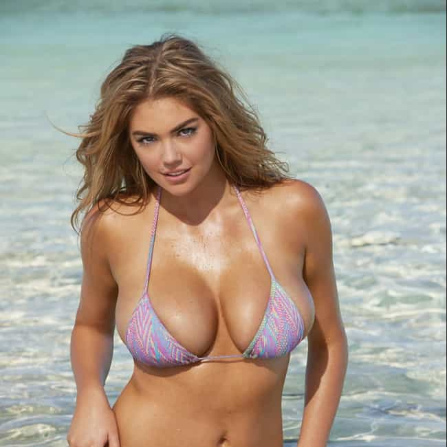Kate in Nice Skimpy Bikini in ... is listed (or ranked) 3 on the list The Hottest Kate Upton Breasts Pics