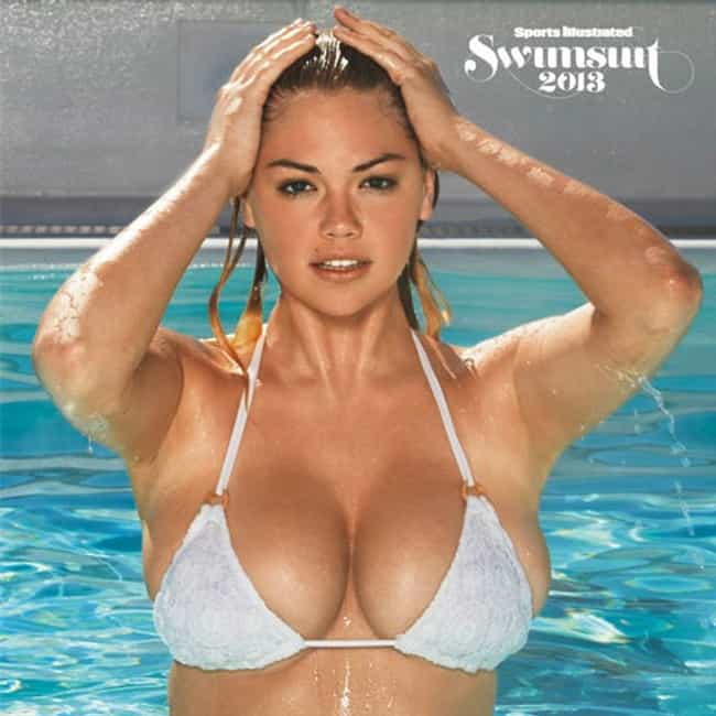 Kate Upton just emerged from t... is listed (or ranked) 4 on the list The Hottest Kate Upton Breasts Pics